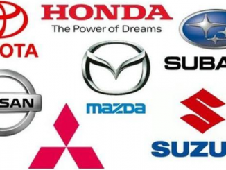 Auto parts for Japanese cars